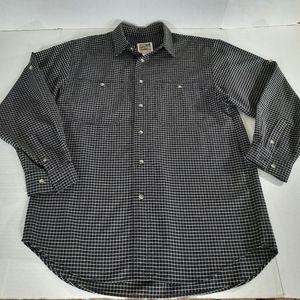 Vintage TravelSmith Shirt Zip Security Pocket